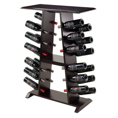 Symple Stuff 24 Bottle Floor Wine Rack