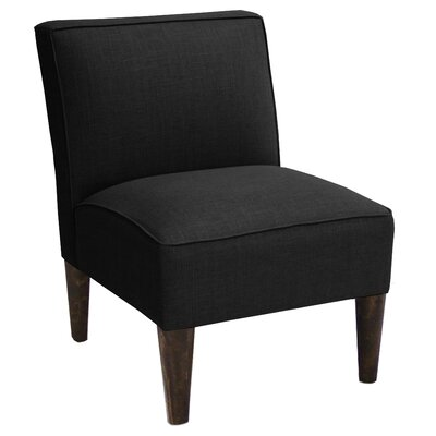 Brayden Studio Linen Armless Chair