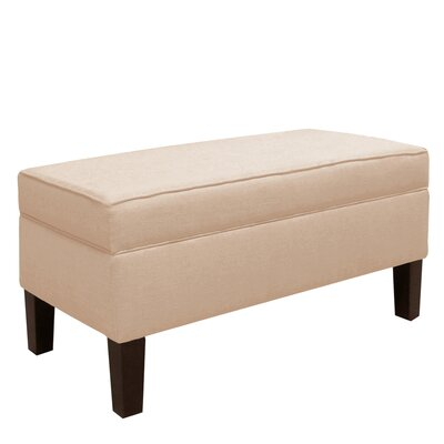 Brayden Studio Klein Upholstered Storage Bedroom Bench