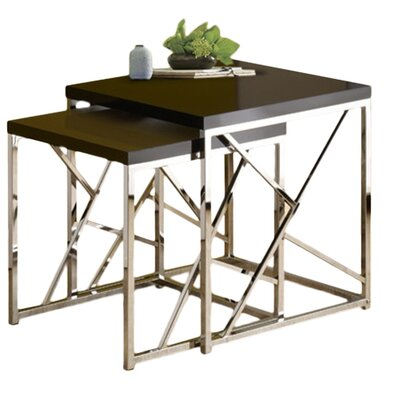 Brayden Studio Dripping Springs 2 Piece Nesting Tables