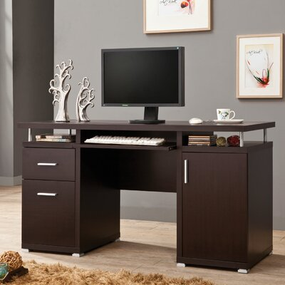 Brayden Studio 2 Drawer Computer Desk
