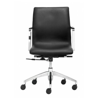 Brayden Studio Port Lincoln Low Back Office Chair (Set of 2)