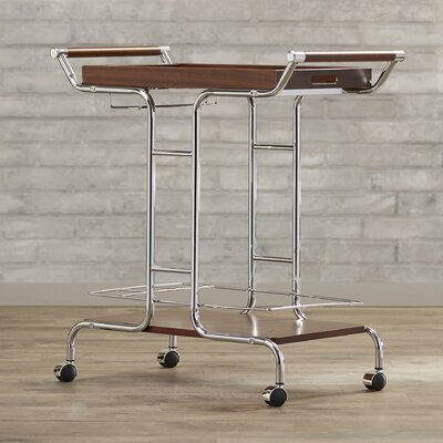 Brayden Studio Burd Serving Cart