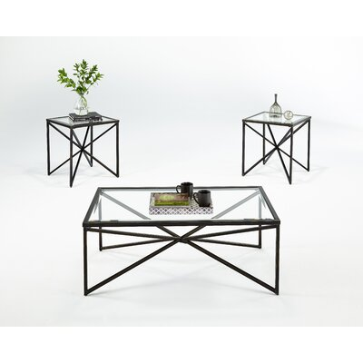 Brayden Studio Greene 3 Piece Coffee Table Set