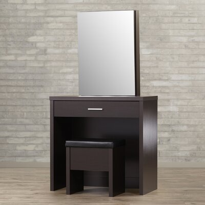 Brayden Studio Stirling Vanity Set with Mirror