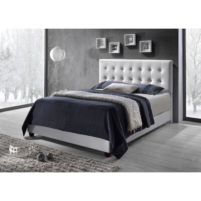 Brayden Studio Tilton Upholstered Panel Bed