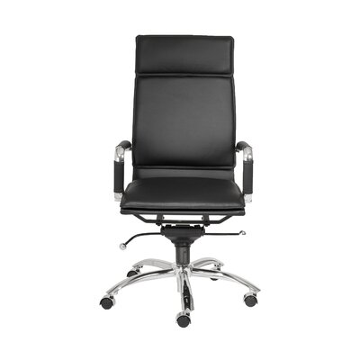 Brayden Studio Kalgoorlie Pro High-Back Leatherette Office Chair with Arms Image