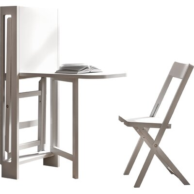 Brayden Studio Escalera 3 Piece Dining Set