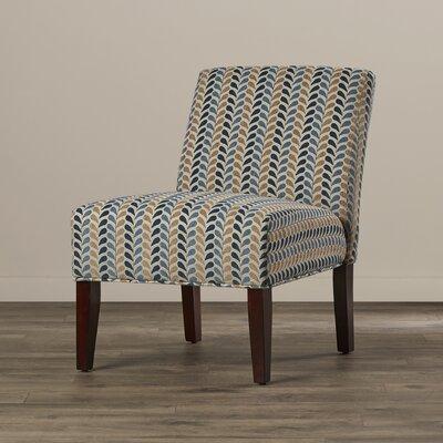 Brayden Studio Perillo Linen Slipper Chair