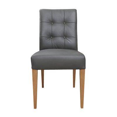Brayden Studio Tyner Leather Side Chair (Set of 2)