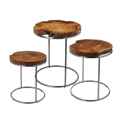 Brayden Studio 3 Piece End Table Set