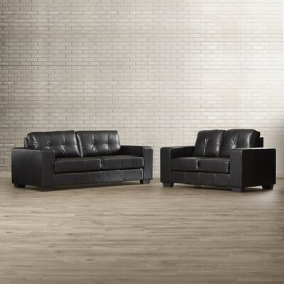 Brayden Studio Zielke Sofa and Loveseat Set