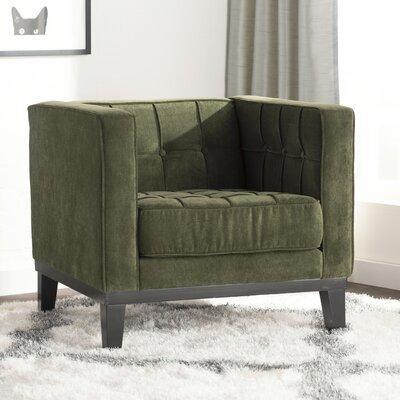 Brayden Studio Verdi Tufted Arm Chair