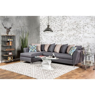 Brayden Studio Wolverton Left Hand Facing Sectional