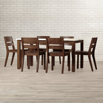 Brayden Studio Losey 7 Piece Dining Set