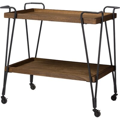Brayden Studio Lohr Serving Cart