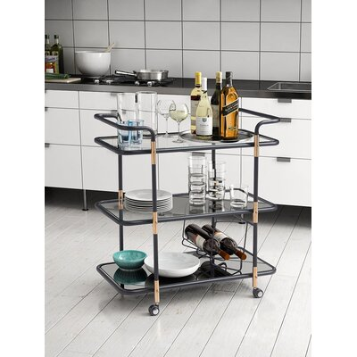 Brayden Studio Crespin Serving Cart