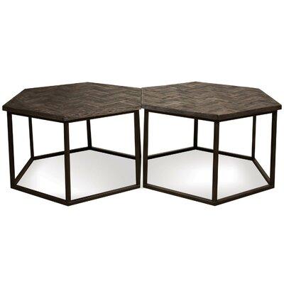 Brayden Studio Aguilar Hexagon Coffee Table