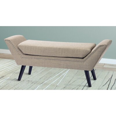 Brayden Studio Irving Place Upholstered Bedroom Bench