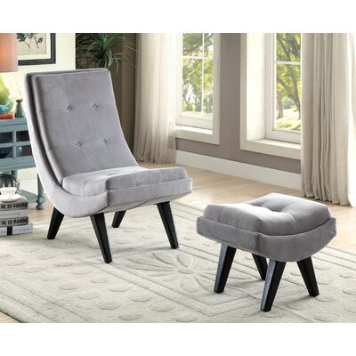 Brayden Studio Northerly Curved Lounge Ch..