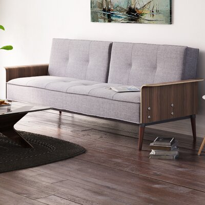 Brayden Studio Toomer Futon Sofa