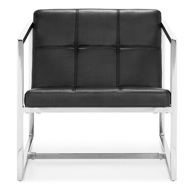 Wade Logan Frederick Carbon Occasional Arm Chair