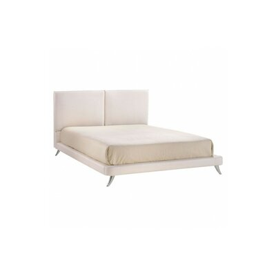 Wade Logan Broomes Upholstered Platform Bed