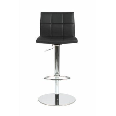 Wade Logan Wetherington Adjustable Height Swivel Bar Stool