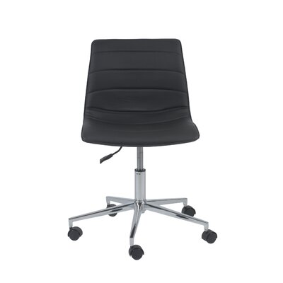 Wade Logan Adkins Adjustable Low-Back Office Chair