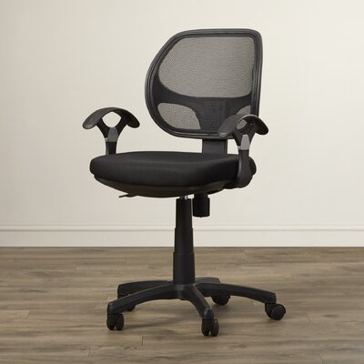 Wade Logan Woburn Mid-Back Mesh Task Chair with Arms