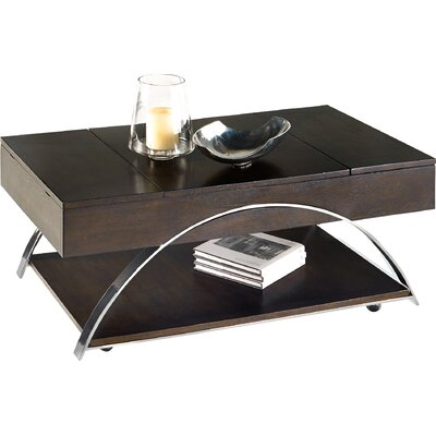Wade Logan Tyler Coffee Table with Lift Top