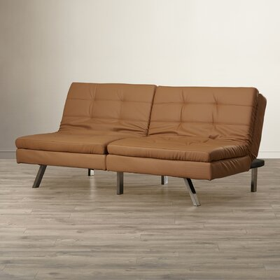 Wade Logan Devonte Foldable Futon Sofa Bed