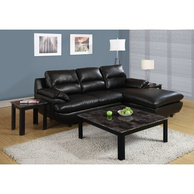 Wade Logan Jack 3 Piece Coffee Table Set