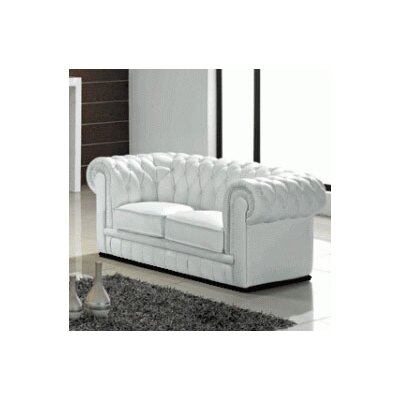 Wade Logan Lamar Leather Loveseat