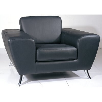 Wade Logan Alonso Leather Arm Chair