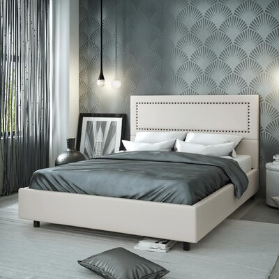 Wade Logan Julius Upholstered Platform Bed