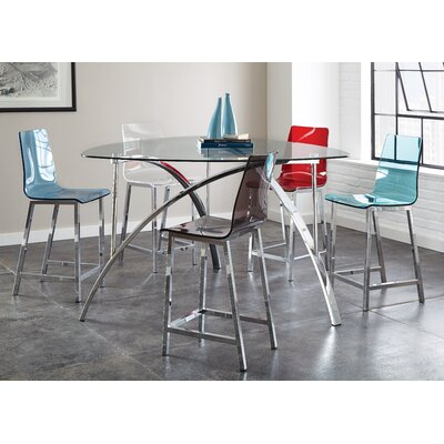 Wade Logan Sicily Counter Height Dining Table