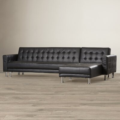 Wade Logan Bentley Reversible Chaise Sectional