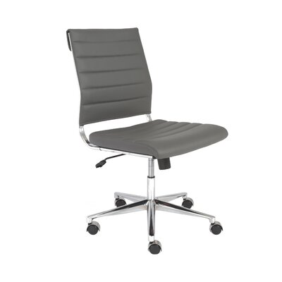 Wade Logan Emil Mid-Back Leatherette Task Chair