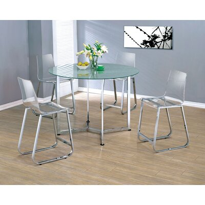 Wade Logan Sigli Counter Height Dining Table