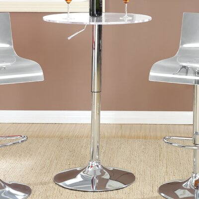 Wade Logan Ernest Adjustable Height Pub Table