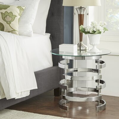House of Hampton Garten End Table