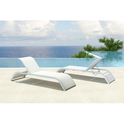 Wade Logan Floyd Chaise Lounge