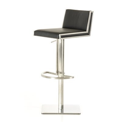 Wade Logan Gerardo Adjustable Height Swivel Bar Stool