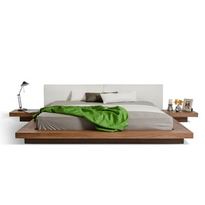Wade Logan Carter Upholstered Platform Bed