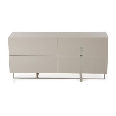 Wade Logan Calmar 5 Drawer Dresser
