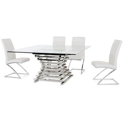 Wade Logan Carter Contemporary Dining Table