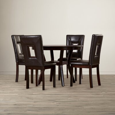 Wade Logan Woodsetter 5 Piece Dining Set