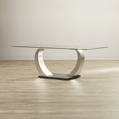 Wade Logan Seth Coffee Table in Black