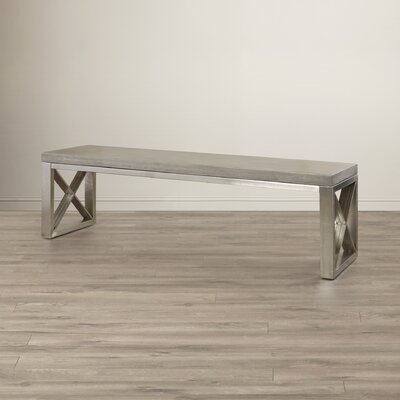 Wade Logan Crestview Upholstered Bench